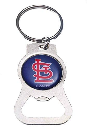 Cardinals Team Logo Bottle Opener Key Ring