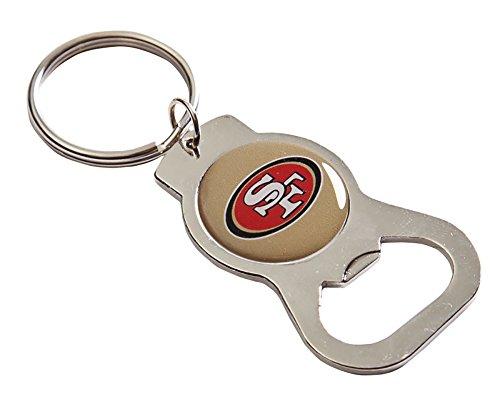 San Francisco 49ers Team Logo Bottle Opener Key Ring