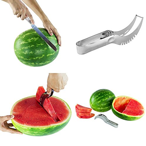 Watermelon Slicer - Knife Server for Serving Easy Watermelon Slices