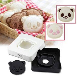 Sandwich Cutter Taidea Cute Panda Pocket Bread Cutter Hand Tools Sandwich Kit Food Deco Sandwich Mold Sandwich Maker Toast Mold Mould Cookie Stamp Kit