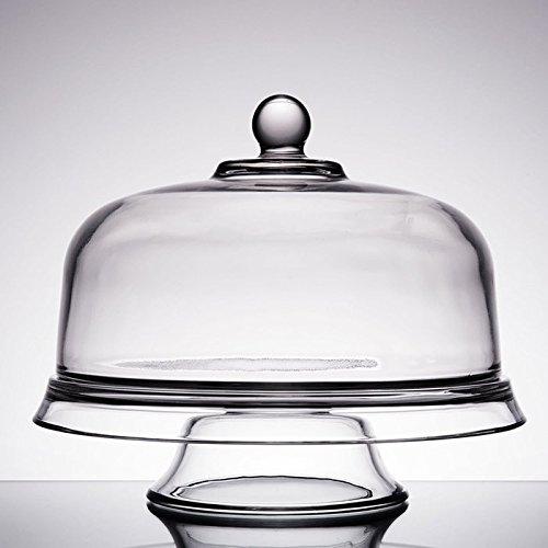 Anchor Hocking Presence 4-in-1 Cake Set Dome Platter