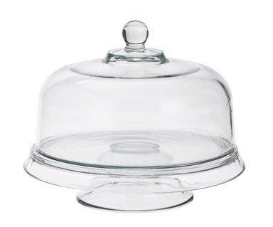 Anchor Hocking Presence 4-in-1 Glass Cake Set