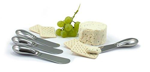 Oneida 4-Piece Cheese Spreader Set Stainless Steel