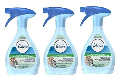 3 Pk Febreze Fabric Refresher Pet Odor Eliminator Air Freshener 27 Fl oz