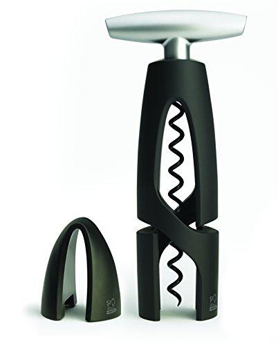 Peugeot Altar Corkscrew with Foil Cutter Black
