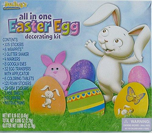 Dudleys All-in-One Eggceptional Easter Egg Decorating Kit