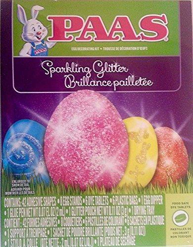 PAAS 37100 Sparkling Glitter Egg Decorating Kit
