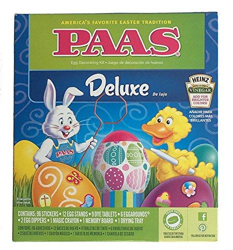 Paas Classic Egg Decorating Kit With 3 Bonus Neon Dye Colors