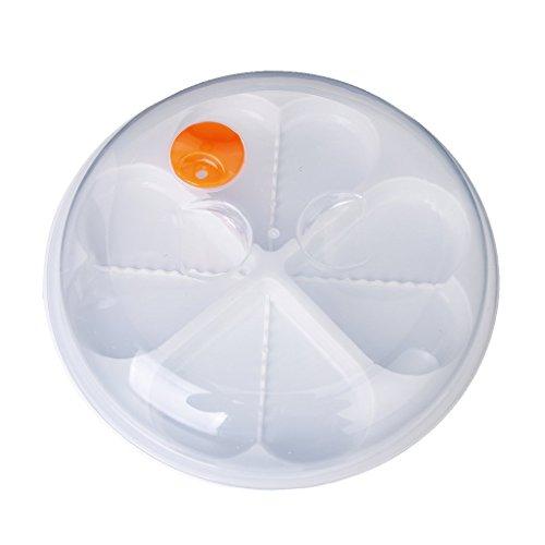 TOOGOOR Heart-Shape Microwave Egg Steamer Poacher Cooker