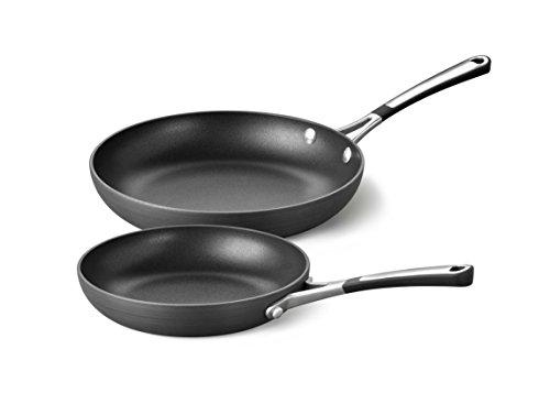 Calphalon Hard Anodized Aluminum Nonstick Cookware Omelette Pan 810 Black