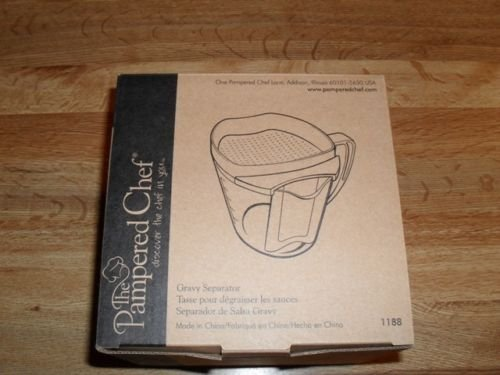 Pampered Chef Gravy Separator 1188