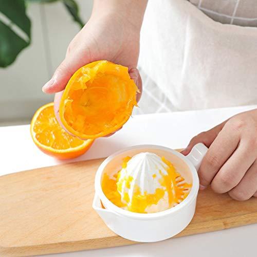 ❤Ywoow❤  Manual Household juicer Multifunctional Plastic Mini Lemon juicer Bar Manual Drink Orange Lemon Citrus Lime Fruit Juicer Squeezer