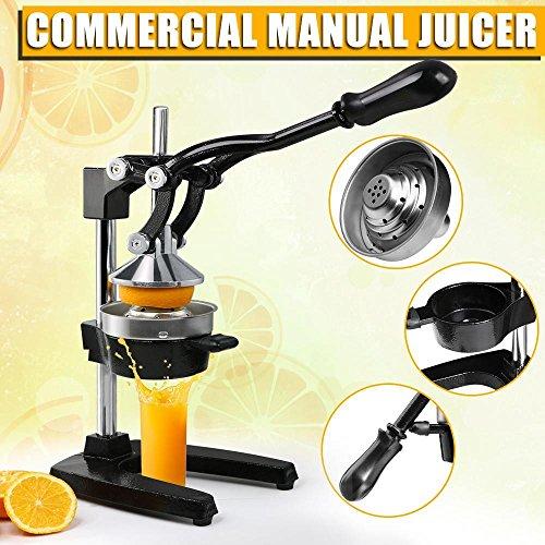 Yaheetech Heavy Duty Commercial Bar Citrus Press Orange Lemon Fruit Manual Squeezer Juicer