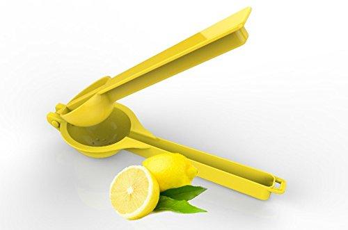 Handheld Lemon Wedge Lime Squeezer Manual Fruit Citrus Juicer Press for Juicing Lemonade  Kitchen Accessories Tool Yellow