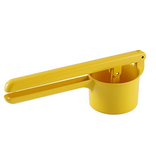 RRH Potato Ricer Masher Aluminium Alloy Fruit Press Manual Juicer Vegetable Fruit Squeezer Yellow