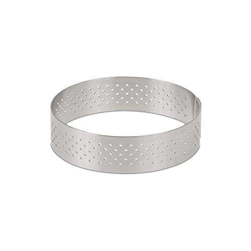 DeBuyer Valrhona Perforated Tart Ring - 295 inch Diameter