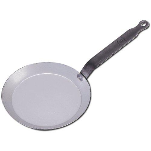 deBuyer Steel Crepe Pan Made of Heavy Quality Steel - 30cm 12