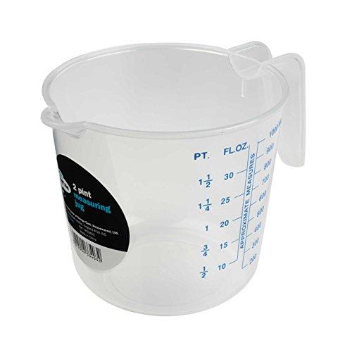 2pt Plastic Measuring Jug