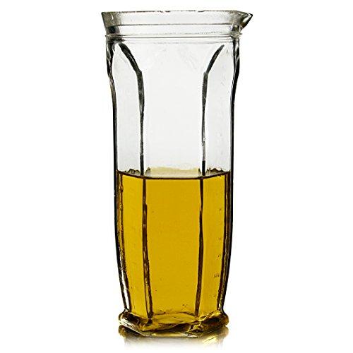 Italian Style Glass Measuring Jug 26 Ounce