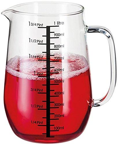 Stellar Kitchen Glass Measuring Jug 1L  175 pints