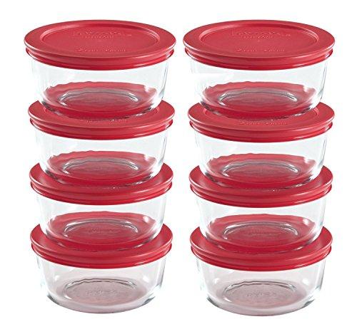 World Kitchen Pyrex 16-Piece 2-Cup Food Storage Set