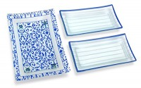 Gift-Pack-Set-of-3-Blue-Tempered-Glass-Rectangular-Serving-Tray-on-Glass-Ball-Legs-and-2-Rectangular-Glass-Dessert-Serving-Plates-Break-and-Chip-Resistant-Oven-Proof-Microwave-Safe-0.jpg