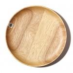 Natural-Wood-Serving-Tray-Tea-Food-Dinnerware-Bar-Platter-Round-Wooden-Plate-NEW-M-40.jpg