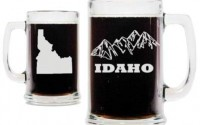Idaho-Mountains-with-State-Silhouette-15oz-Beer-Mug-with-Handle-63.jpg